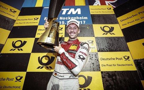 DTM: René Rast conquista o título de 2017