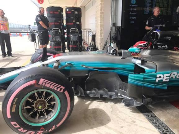 F1: Lewis Hamilton é o mais rápido nos treinos livres em Austin