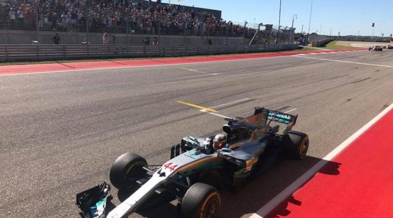 F1: Lewis Hamilton vence GP dos EUA