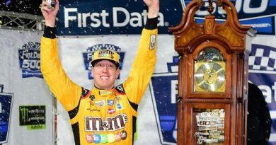 NASCAR Monster Energy Cup Series: Kyle Busch vence em Martinsville