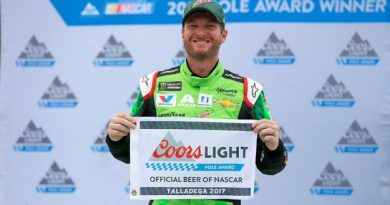 NASCAR Monster Energy Cup Series: Dale Earnhardt Jr. conquista a pole em Talladega
