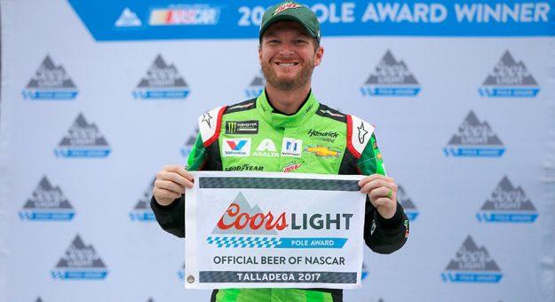 NASCAR Monster Energy Cup Series: Dale Earnhardt Jr. conquista a pole em Talladega