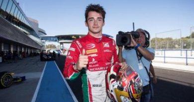 F2: Charles Leclerc marca a pole em Jerez