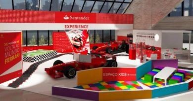 F1: Patrocinador da Ferrari leva ações interativas ao Shopping Eldorado em SP