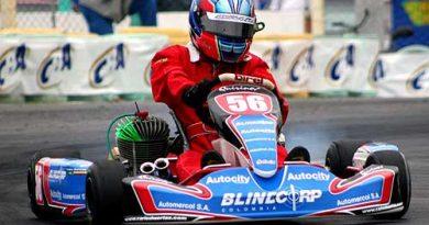 Kart - Brasileiro: Carlos Huertas faz o segundo tempo do dia na Junior