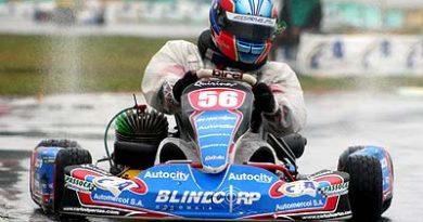 Kart - Brasileiro: Carlos Huertas perde título por muito pouco