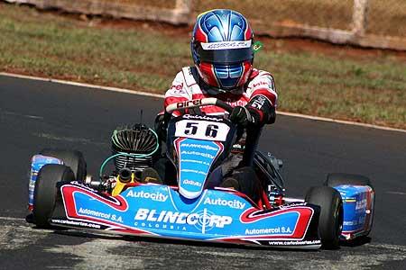 Kart - Brasileiro: Carlos Huertas começa os treinos na frente da IC Sudam Junior