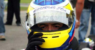 Kart: Motor foi o vilão de Carlos Huertas no Campeonato Paulista