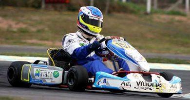 Kart - Brasileiro: Marinho's Motors fica com a segunda melhor marca do dia em Floripa