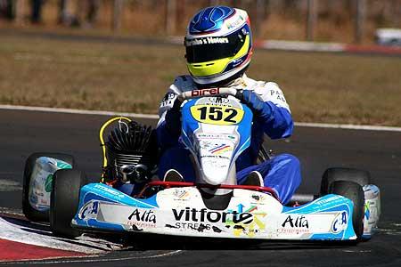 Kart - Brasileiro: Denis Navarro marca o segundo tempo na Graduados A
