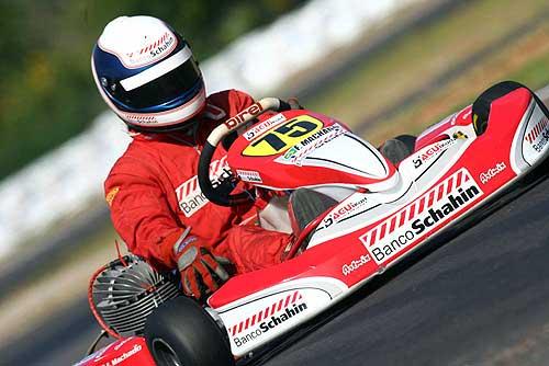 Kart - Brasileiro: Fabiano Machado termina primeiro dia em terceiro na classificação geral