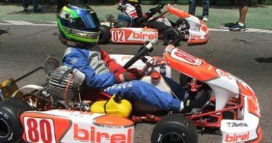 Kart - Brasileiro: Felipe Fraga é pole no Brasileiro de Kart e é apontado como favorito