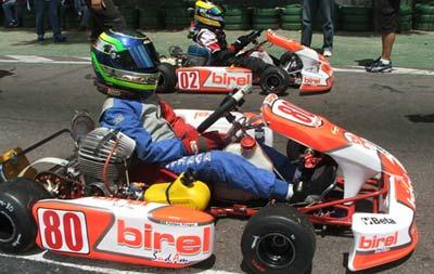 Kart - Brasileiro: Felipe Fraga é o campeão da Júnior Menor