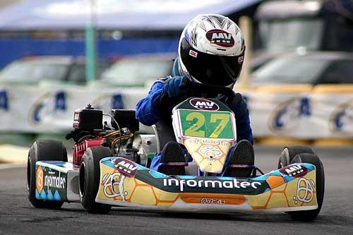 Kart - Brasileiro: Felipe Ferraretto quer estar entre os dez primeiros do grid