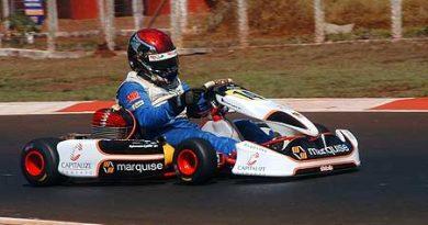 Kart - Brasileiro: Hybernon trabalhou para acertar seu kart para as primeiras provas