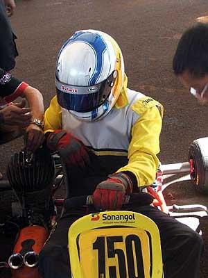 Kart - Brasileiro: Dois motores travados em 5 voltas. Assim foi o dia de João Neto