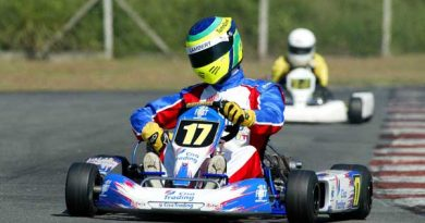 Kart: Henrique Lambert sobe na classificação no Paulista Light
