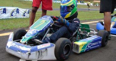 Kart: Léo Gimenes disputa em Florianópolis seu segundo torneio internacional