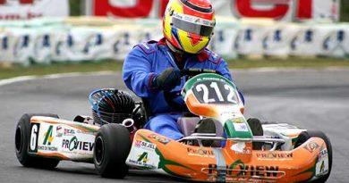 Kart - Brasileiro: Márcio Pasaneli pronto para a classificação