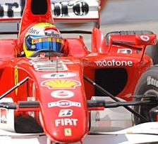 F1: Ferrari troca motor de Massa, que perde dez posições
