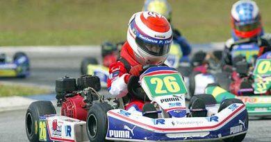 Kart - Brasileiro: Matheus Chequer se mantém entre os seis primeiros na Cadete