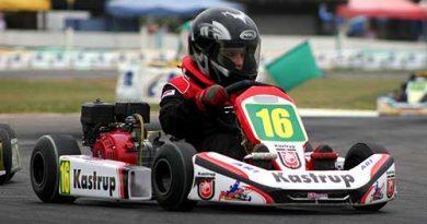 Kart - Brasileiro: Mauricio Jr já está mostrando a que veio