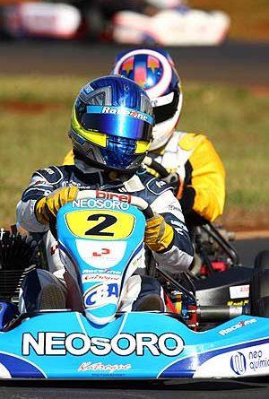 Kart - Brasileiro: Rodolpho Santos destaca diferenças na condução do kart em relação a F-Renault