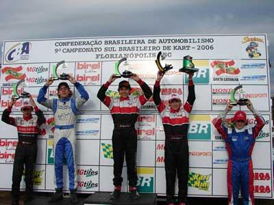 Kart: Sul-Brasileiro consagra mais nove campeões