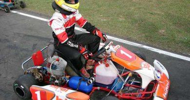 Kart: Victor Carbone volta às pistas depois de lesão nas costelas