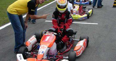 Kart: Victor Carbone termina em quarto e sobe uma posição no Paulista Light