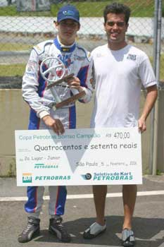 Kart: Vilarinho larga na pole e termina em segundo na Copa Petrobras Sorriso Campeão