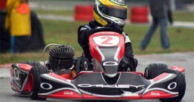 Kart: Motor deixa Banzoli na mão em sua estréia na categoria Júnior