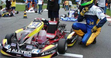 Kart: Fábio Gomide enfrentou problemas com chassi na abertura do Paulista Light