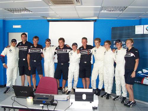 F-BMW: Giancarlo Vilarinho termina Scholarship com avaliação positiva