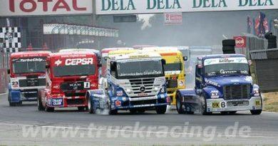 Euro Truck Racing: Markus Bösiger vence as duas em Zolder e dispara