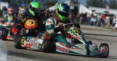 Kart: Danilo Dirani faz ótima estréia no Starts of Karting