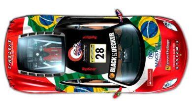 Outras: Bruno Serra correrá de Ferrari em Silverstone