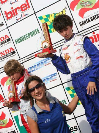 Kart: Cascavelense é líder do Sul-brasileiro de Kart