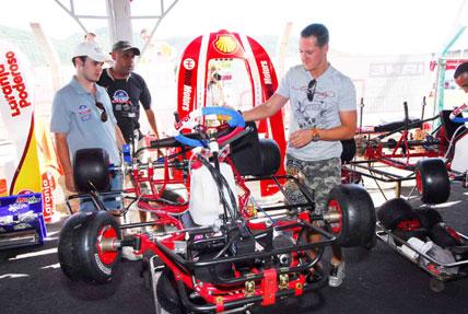 Kart: Massa diz que Schumacher é favorito no Desafio das Estrelas