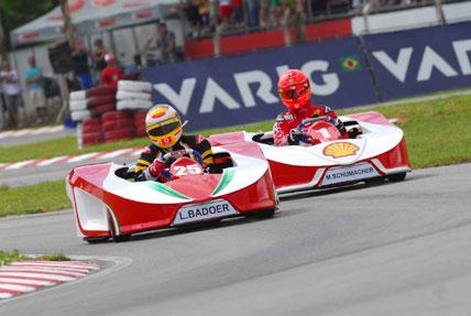 Desafio das Estrelas: Schumacher lidera primeira sessão de treinos