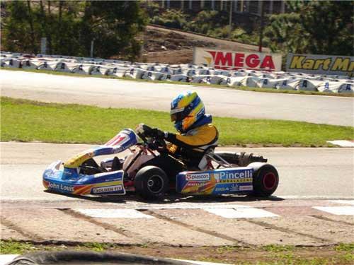 Kart: Paranaense Jonathan Louis está pronto para mais uma edição do Brasileiro
