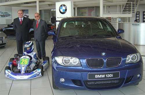 Kart: Matheus Chequer passa a levar as cores da BMW Agulhas Negras em seu kart