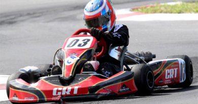 Kart: Mesmo largando em sexto Pipo Derani está confiante em bom desempenho