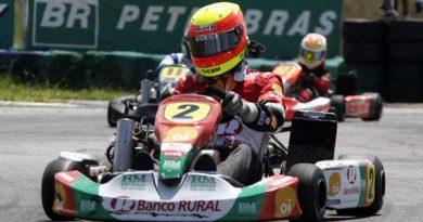 Kart: Clemente Faria Júnior foi o 7º na Copa Sorriso Campeão em São Paulo