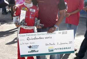 Kart: João Abreu começou a temporada com pole e segundo lugar na Copa Petrobras Sorriso Campeão