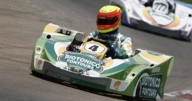 Kart: Clemente Júnior sobe ao pódio com a Piquet Sports