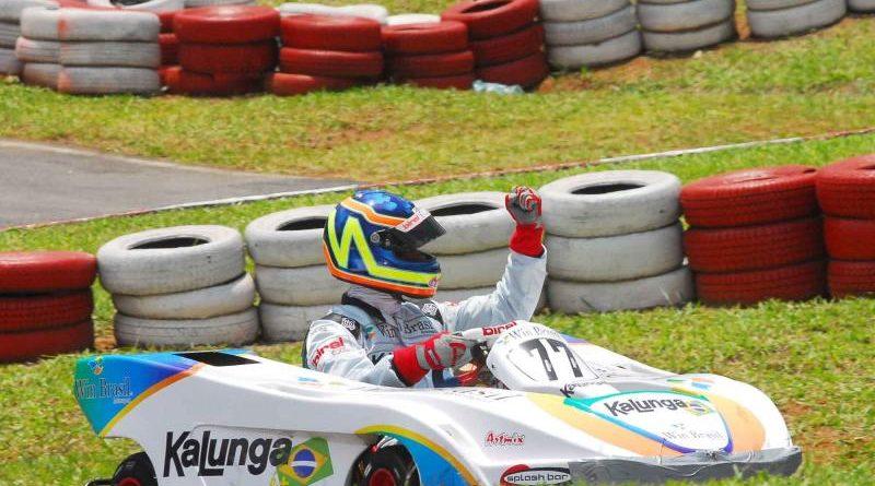 Kart: André Nicastro é o pole nas 500 Milhas da Granja Viana