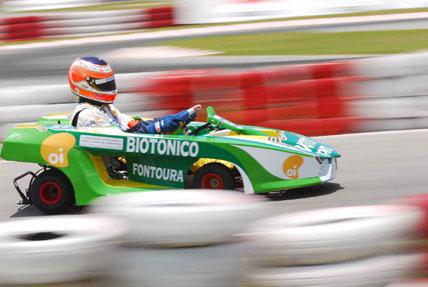 Kart: Nelsinho Piquet marca a pole no Desafio das Estrelas