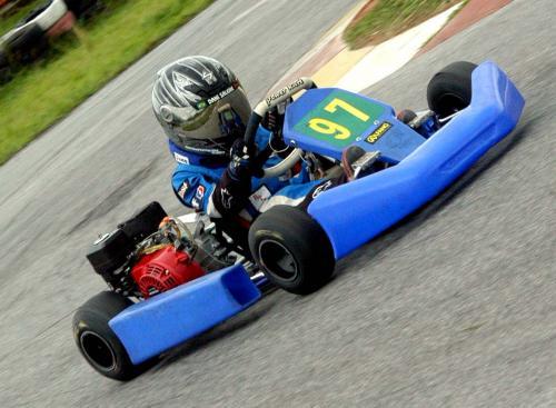 Kart: Daniel Saleme disputa rodada dupla neste fim de semana