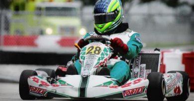 Kart: Danilo Dirani é o quarto colocando em Campeonato Norte-Americano de Shifter Kart